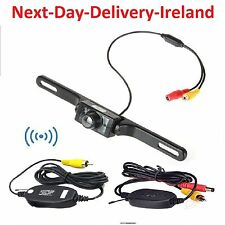 Wireless Rear View Car Backup Camera Reversing Camara Waterproof Night Vision