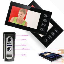 """7"""" Video Door Bell Digital Phone Home Doorbell Intercom Security Camera Monitor"""