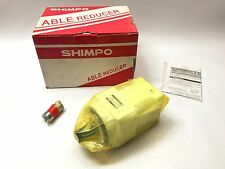 New Shimpo 30:1 Able Gear Reducer, VRAL D30L0702401XT0, Nidec, Servo Motor Drive