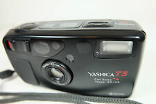 YASHICA T5 35mm Compact Film Camera With Carl Zeiss Tessar T* 3,5 35mm Lens