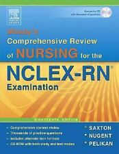 Mosby's Comprehensive Review of Nursing for NCLEX-RN by Martin-Zurro,...