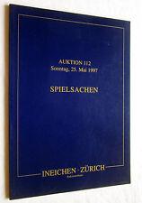 Auktions-Katalog SPIELSACHEN Mai 1997 (bebildert)