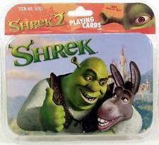 Shrek Themed Playing Cards in Collector Tin by Rix DOUBLE DECK 2 DECKS