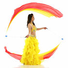LED Glow POI Juggling Circus Pro Bellydance Props Acrobatics Yo-Yo Flames Games