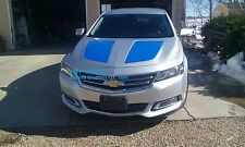 Hood Insert Rally Stripe Set Stripes Decals Graphics FIT 2014 2015 2016 impala