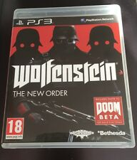 Wolfenstein The New Order PS3 Game
