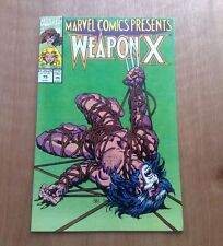 WEAPON X #75 (BEFORE WOLVERINE) MARVEL COMICS 1991 V/FINE COPY BAGGED & BOARDED