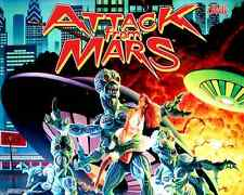 Update Pinball Mise à Jour Flipper ATTACK FROM MARS Bally