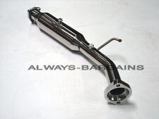 Manzo Stainless Steel Downpipe Honda Civic SI 06 07 08 2.0L Coupe 2DR K20Z3