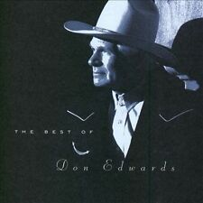 Best of Don Edwards by Don Edwards (CD, May-1998, Warner Bros.)