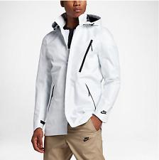 Nike Sportswear Waterproof Bonded Blazer Jacket White/Black 836411-100 Men's M