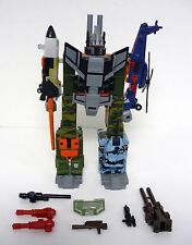 TRANSFORMERS BRUTICUS RUINATION Robots In Disguise Combiner NEAR COMPLETE 2001