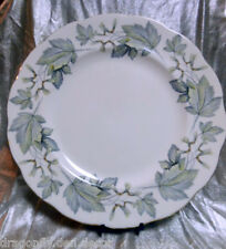 "ROYAL ALBERT - FINE CHINA ENGLAND Dinner Plate 10 3/8"" - ""SILVER MAPLE"" Hampton"