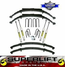 "1973-1987 Chevrolet Silverado GMC 2500 4"" SuperLift Suspension Lift Kit 4X4"