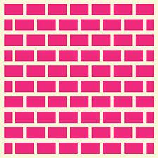Fairydust Stencils & Masks - Mini Brick Wall