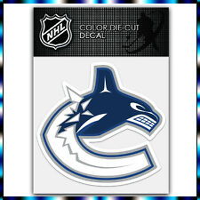 "Vancouver Canucks NHL Die Cut Vinyl Sticker Car Bumper Window 4""x4"""