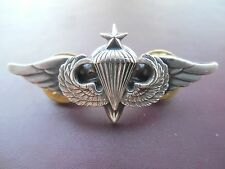 Airborne Rigger Senior Jump Wing Badge Insignia US Army Parachute Pack Pin OK075
