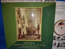 ASD 408 *WHITE/GOLD* SILVESTRI* CONDUCTS *FRANCK SYMPHONY IN D MINOR* PO* NM