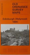 OLD ORDNANCE SURVEY DETAILED MAP EDINBURGH HOLYROOD SCOTLAND 1894 SHEET 3.08