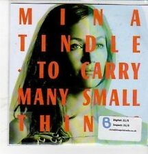 (CZ7) Mina Tindle, To Carry Many Small Things - 2012 DJ CD