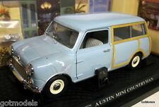 Kyosho 1/18 Scale 08191B Austin Mini Countryman original vers diecast model car