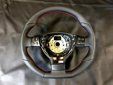 Steering Wheel VW Golf 5 V GTI Passat B6 Scirocco Jetta Flat Bottom new Leather