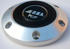 GENUINE ITALIAN OBA SPORTS STEERING WHEEL HORN BUTTON WITH ALUMINIUM SURROUND