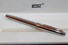 Montblanc Meisterstück Solitaire Stainless Steel Füllfederhalter FP, Mont Blanc