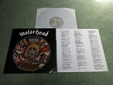 MOTORHEAD 1916 European EPIC LP with Lyrics Inner 1A1/1B1 467481 1!