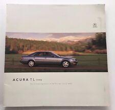1998 Acura RL 26-page Original Car Sales Brochure Catalog