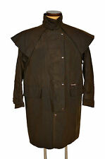 Driza-Bone Three Quarter length Waxed Coat Short Size 6 L