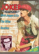 ROLLING STONES SWEET COSTELLO WHO ABBA CAT STEVENS GERMAN magazine