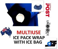 MULTIUSE ICE PACK WRAP STRAP BRACE WITH ICE BAG FOR KNEE ELBOW CALF NEC SUPPORT