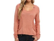 $59 Fox Racing Unruly Sweater In Orange Sherbet Size L
