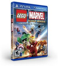 NEW LEGO Marvel Super Heroes -- Universe in Peril  (PlayStation Vita, 2013) NTSC