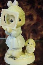"Precious Moments-#681067 ""You Complete My Heart"" -Girl w/Cut Out Heart- NEW"