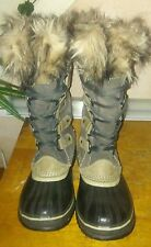 Sorel Joan of Arctic Boots Tobacco /Sudan Brown Waterproof Snow Boots Sz 7