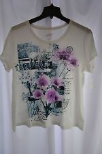 New Style&Co. Sport Women's Plus Size 3X Bright White Decorative T-Shirt