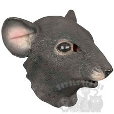Latex Animal Rat Rodent Rattus Fancy Dress Carnival Overhead Stag Hen Party Mask