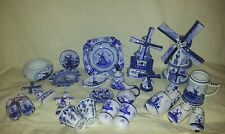 VARIOUS DELFT BLUE POTTERY PIECES. ##See pics ##REDUCED##..