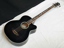 MICHAEL KELLY Dragonfly 4-string FRETLESS acoustic BASS guitar NEW Smokeburst