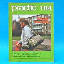 DDR practic 1/1984 Gewächshaus Sonnenkollektor Stepptasche Parkleuchte O