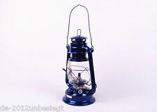Black Retro Oil Lantern Outdoor Camp Kerosene Paraffin Hurricane Lamp