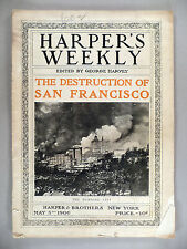 Harper's Weekly - May 5, 1906 -- first reporting of San Francisco earthquake