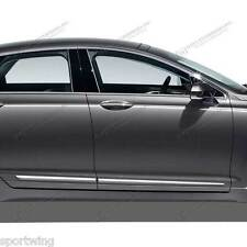 For: LINCOLN MKZ; Body Side Moldings Mouldings Trim LOWER CHROMED ABS 2013-2017