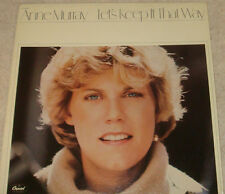 Anne Murray Let's Keep It That Way LP  Lyrics sleeve Capital R-123663 VG+