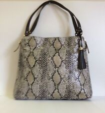 Brand NEW Stella & Dot The Switch SNAKESKIN Tote Bag-$138 SOLD OUT