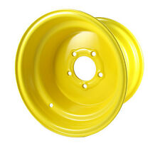 One 12 x 8.5  5 Bolt Yellow Lawn Tractor Rim Wheel fits 23x10.50-12 Tires SC