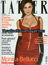 UK Tatler 11/03,Monica Bellucci,November 2003,NEW