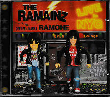 The Ramainz (Dee Dee & Marky Ramone) - Live in NYC  -CD- NEU&OVP!